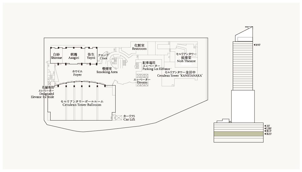 Floor Plans | Cerulean Tower Tokyu Hotel