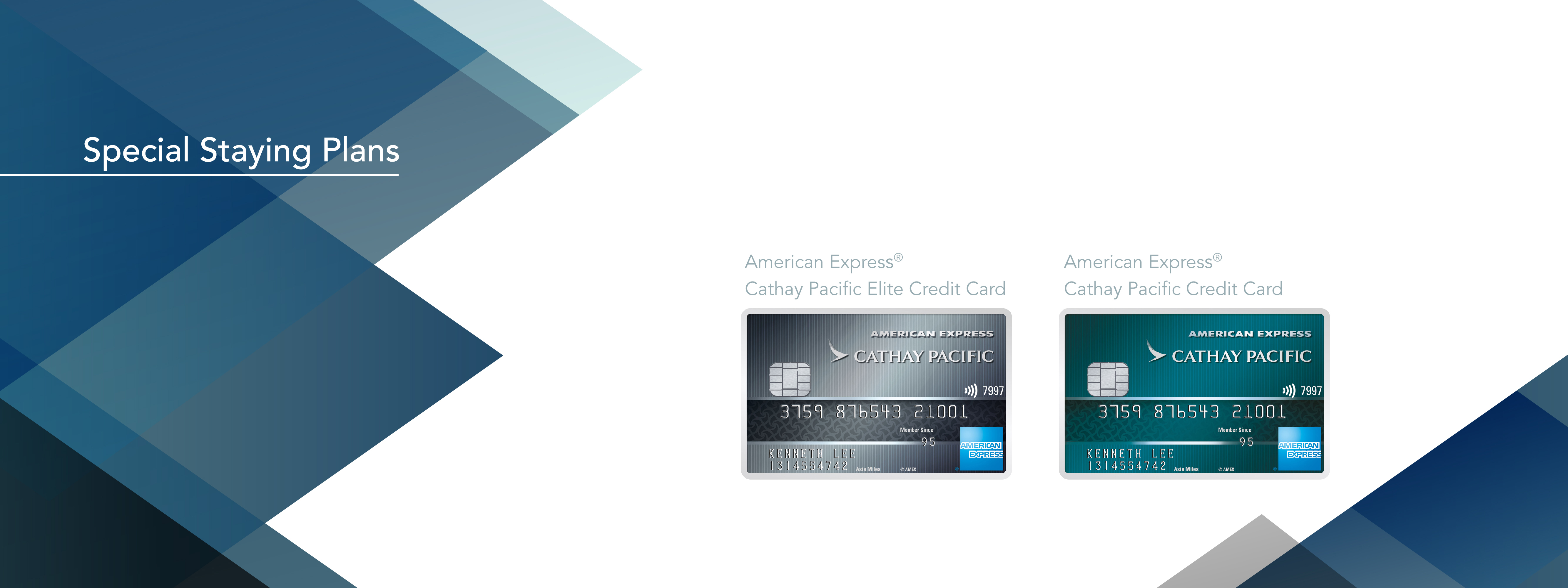 The Cathay Pacific American Express® Credit Card